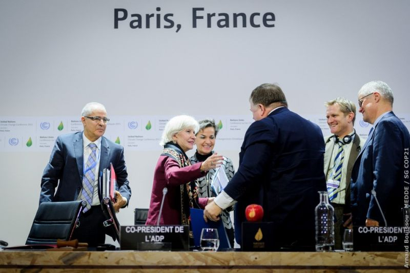 COP21...BORMIOLI LUIGI WAS THERE WITH ITS GLASS