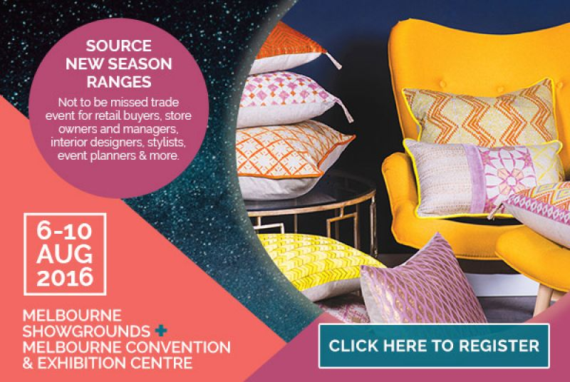 MENO DI UN MESE AL GIFT & HOMEWARES TRADE FAIR DI MELBOURNE!